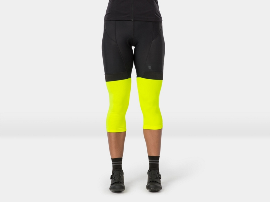 Bontrager Warmer Thermal Knee Small Radioactive Yellow